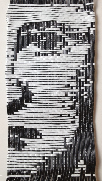 "4.4"" x 8.5"" Woven Computer Cable and Monofilament"