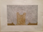 "Jasper Johns ""untitled"" (from Regrets series)"