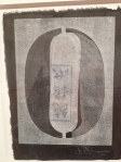 "Jasper Johns ""0-9"" monotypes"