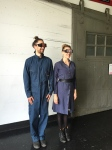 "Justin Hoover and Rachel Znerold ""Eye Witness"" (performance piece)"