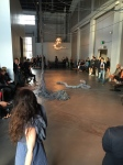 "Latifa Medjdoub ""Conversation with the Roots"" (Installation and performance)"